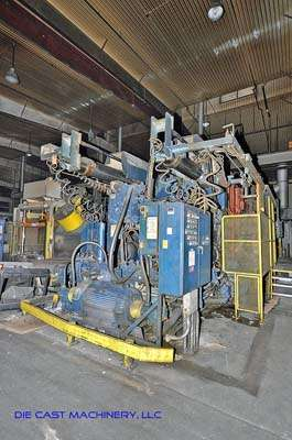 Picture of Prince 2360 CCA Horizontal Cold Chamber Aluminum High Pressure Die Casting Machine For Sale DCMP-2160