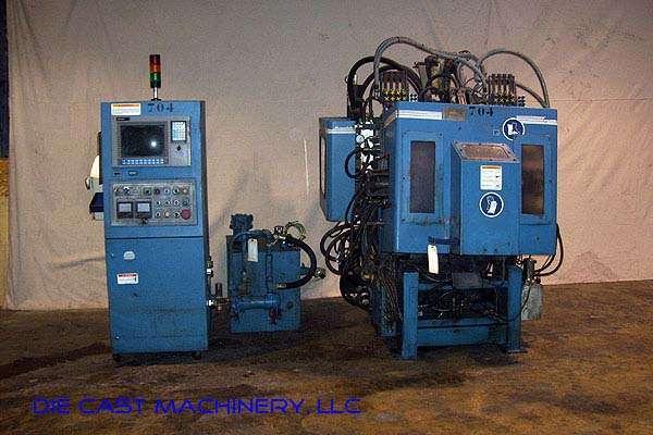 44NT Hot Chamber Zinc 4x4 machine