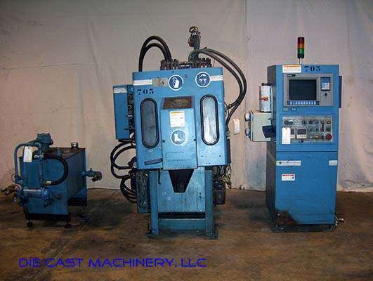 Picture of Techmire 22NT Four Slide/Multi-slide Hot Chamber Zinc (Zamak) High Pressure Die Casting Machine For Sale DCMP-2172
