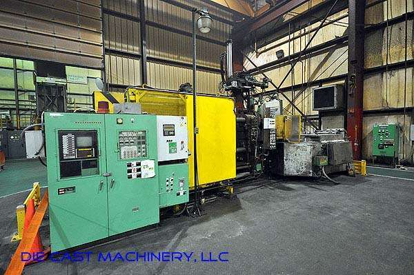 Picture of Toshiba DC-650-CL-II Horizontal Cold Chamber Aluminum High Pressure Die Casting Machine For Sale DCMP-2175