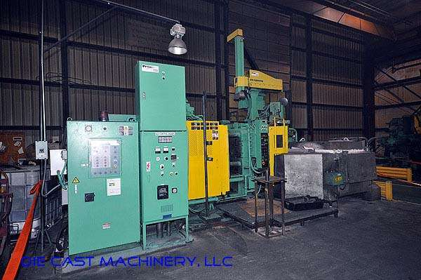 Picture of Toshiba DC-350-CL-III Horizontal Cold Chamber Aluminum High Pressure Die Casting Machine For Sale DCMP-2178