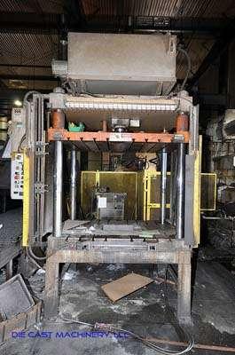 75 ton, 4-Post Hydraulic Trim Press