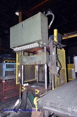 50 ton, 4-Post Hydraulic Trim Press