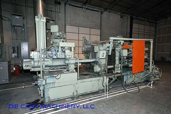 Picture of Ube UB 350 G Horizontal Cold Chamber Aluminum High Pressure Die Casting Machine For Sale DCMP-2202
