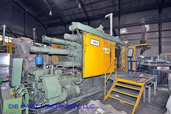 Picture of Idra OL-900 PRP Horizontal Cold Chamber Aluminum High Pressure Die Casting Machine For Sale DCMP-2244