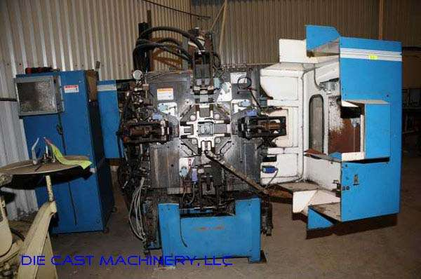 Picture of Techmire 44NT Four Slide/Multi-slide Hot Chamber Zinc (Zamak) High Pressure Die Casting Machine For Sale DCMP-2246