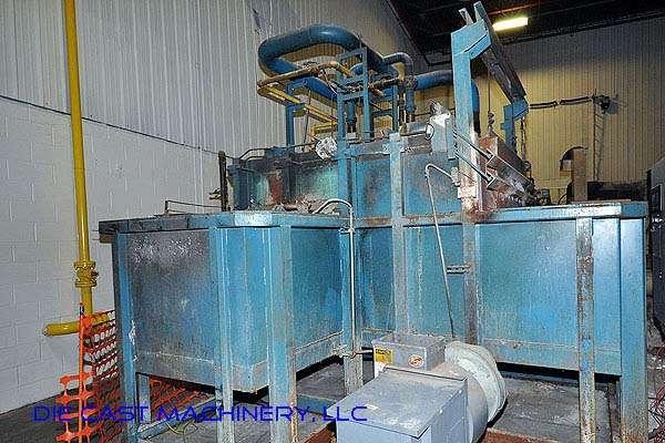 1200 lb/hr Aluminum Melting Holding Furnace