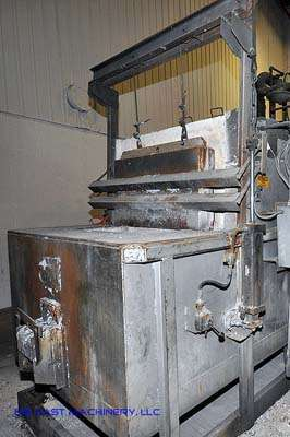 550 lb/hr Aluminum Melting Holding Furnace