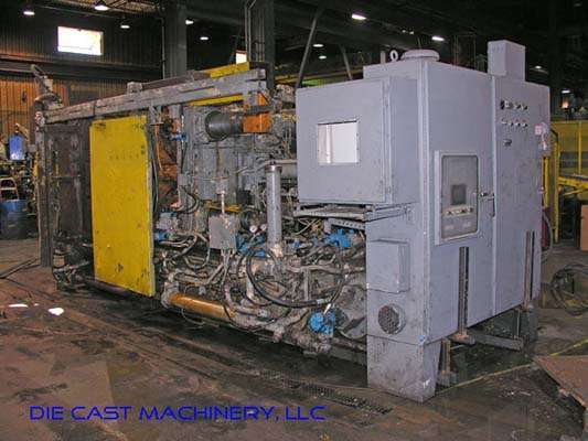 Picture of Prince 629 CCA Horizontal Cold Chamber Aluminum High Pressure Die Casting Machine For Sale DCMP-2324