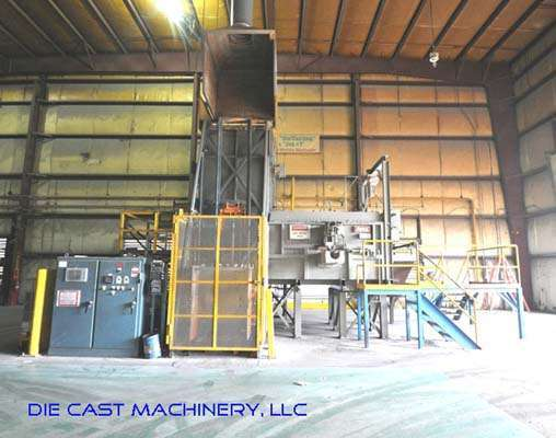 4000 lbs/hr Melting/Holding Shaft Type Gas Furnace