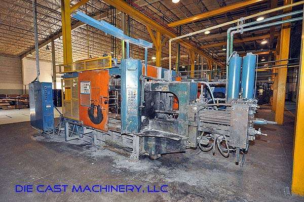 Picture of HPM II-400-A Horizontal Cold Chamber Aluminum/Magnesium Capable High Pressure Die Casting Machine For Sale DCMP-2338