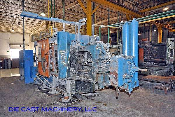Picture of HPM II-400-A Horizontal Cold Chamber Aluminum/Magnesium Capable High Pressure Die Casting Machine For Sale DCMP-2340
