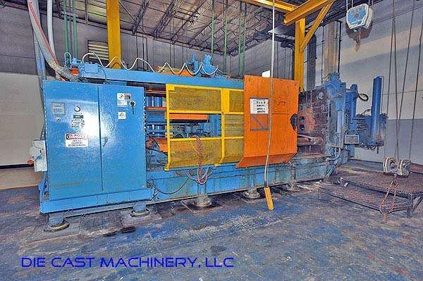 Picture of HPM II-900-A Horizontal Cold Chamber Aluminum/Magnesium Capable High Pressure Die Casting Machine For Sale DCMP-2343