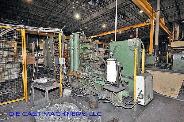 Picture of HPM II-600-A Horizontal Cold Chamber Aluminum High Pressure Die Casting Machine For Sale DCMP-2387