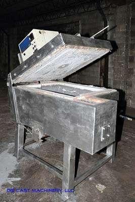 1600 Pound High Efficiency Aluminum Holding Furnace