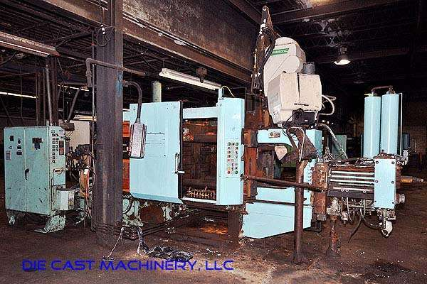Picture of HPM II-400-A Horizontal Cold Chamber Aluminum High Pressure Die Casting Machine For Sale DCMP-2449