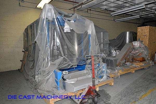MH II-T 3000/2000 G-eg shaft type melting holding furnace