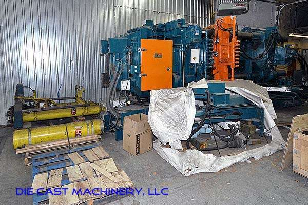 Picture of Ube UA 900it Horizontal Cold Chamber Aluminum High Pressure Die Casting Machine For Sale DCMP-2506