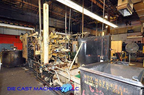 Picture of HPM II-600-A Horizontal Cold Chamber Aluminum High Pressure Die Casting Machine For Sale DCMP-2532