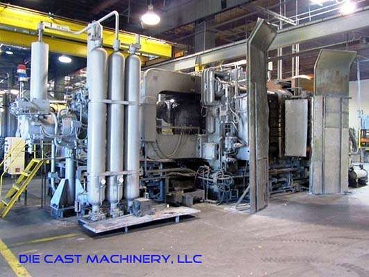 Picture of Toshiba DC-1650-CSL Horizontal Cold Chamber Aluminum High Pressure Die Casting Machine For Sale DCMP-2534