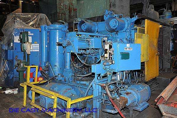 Picture of Prince 836 CCA Horizontal Cold Chamber Aluminum High Pressure Die Casting Machine For Sale DCMP-2539