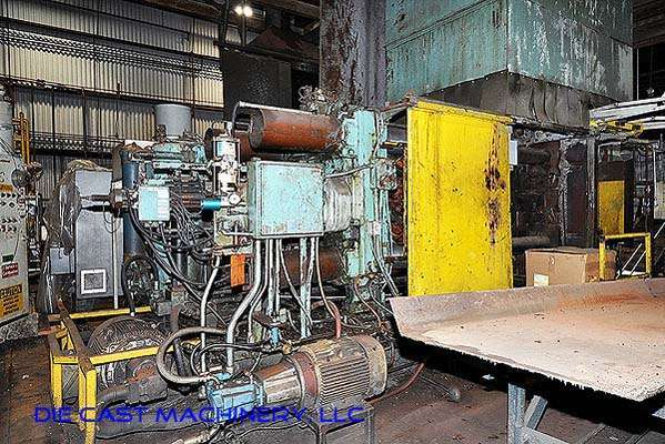Picture of Prince 836 CCA Horizontal Cold Chamber Aluminum High Pressure Die Casting Machine For Sale DCMP-2545