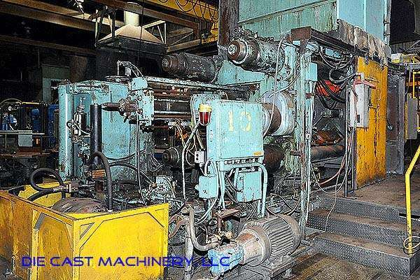 Picture of Prince 1246 CCA Horizontal Cold Chamber Aluminum High Pressure Die Casting Machine For Sale DCMP-2549