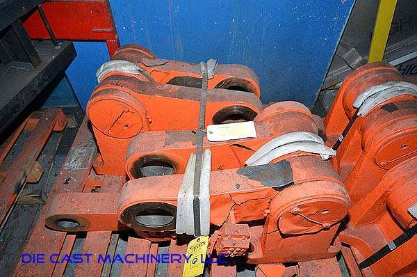 Toggle linkage with linkage pins (rebuilt) for Prince Model 1246 1200 ton cold chamber die casting machine