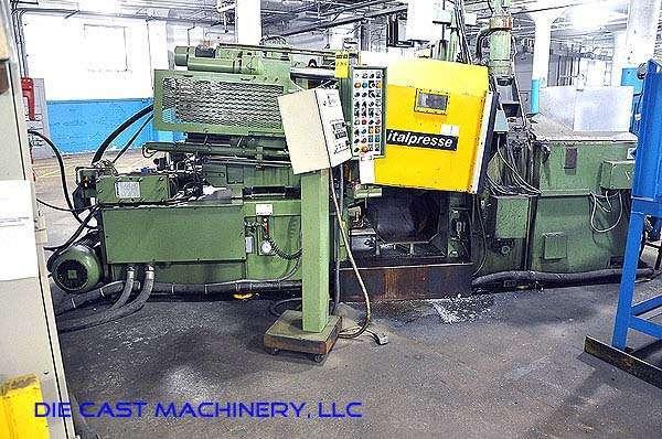Picture of Italpresse IPZ 130 Horizontal Hot Chamber Zinc (Zamak) High Pressure Die Casting Machine For Sale DCMP-2628
