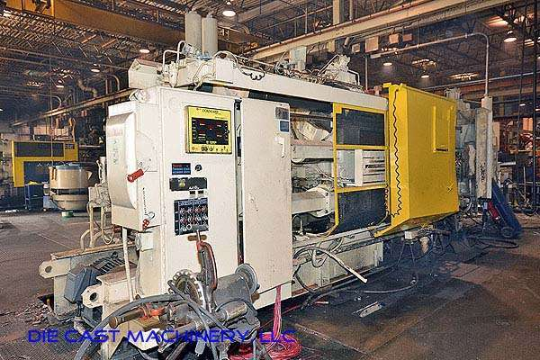 Picture of HPM II-900-A Horizontal Cold Chamber Aluminum/Magnesium Capable High Pressure Die Casting Machine For Sale DCMP-2647