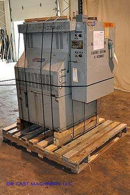 Model XG4P36-IR, Single Zone, Hot Oil Unit