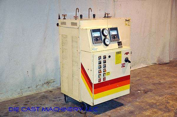Model F-6026-DX 36 KW Dual Zone Hot Oil Temperature Control Unit