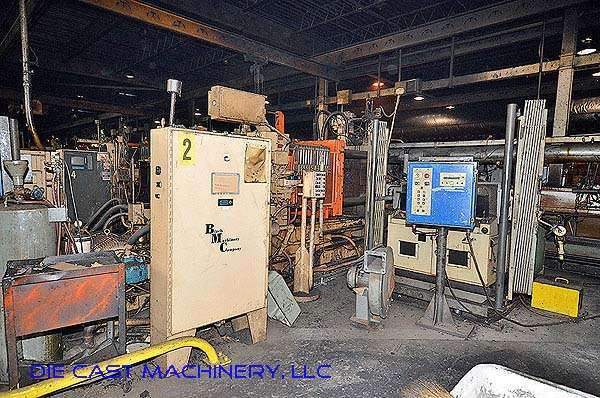 Picture of Kux-Wickes BH-600 Horizontal Hot Chamber Zinc (Zamak) High Pressure Die Casting Machine For Sale DCMP-2781