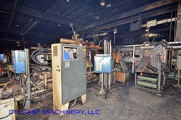 Picture of Kux-Wickes BH-600 Horizontal Hot Chamber Zinc (Zamak) High Pressure Die Casting Machine For Sale DCMP-2785