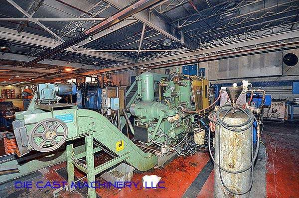 Picture of Kux-Wickes BH 200 Horizontal Hot Chamber Zinc (Zamak) High Pressure Die Casting Machine For Sale DCMP-2790