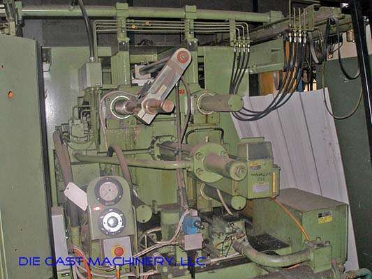Picture of Buhler H-250-B Horizontal Cold Chamber Aluminum High Pressure Die Casting Machine For Sale DCMP-2839