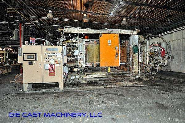 Picture of Prince 1242 CCA Horizontal Cold Chamber Aluminum High Pressure Die Casting Machine For Sale DCMP-2842