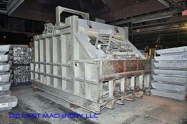 2,000 pounds per hour Reverberatory Aluminum Melting Furnace DCM 2891