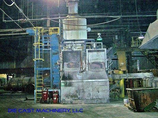 MH II-N 2000/2000 G-eg shaft type melting holding furnace, DCM 2894