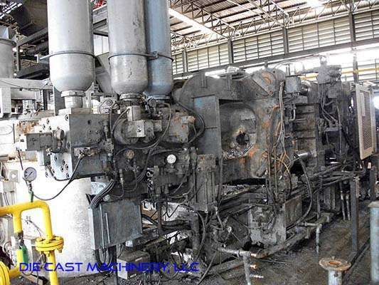 Picture of Toyo Machinery BD-350V4-T Horizontal Cold Chamber Aluminum High Pressure Die Casting Machine For Sale DCMP-2902