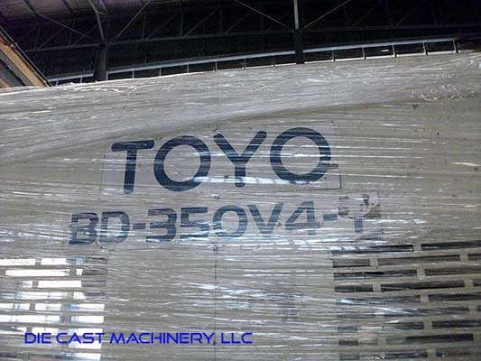 Picture of Toyo Machinery BD-350V4-T Horizontal Cold Chamber Aluminum High Pressure Die Casting Machine For Sale DCMP-2904