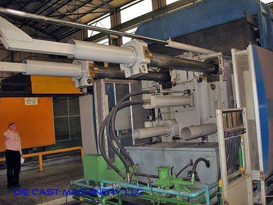 Picture of Buhler Evolution B 140 D Horizontal Cold Chamber Aluminum High Pressure Die Casting Machine For Sale DCMP-2910