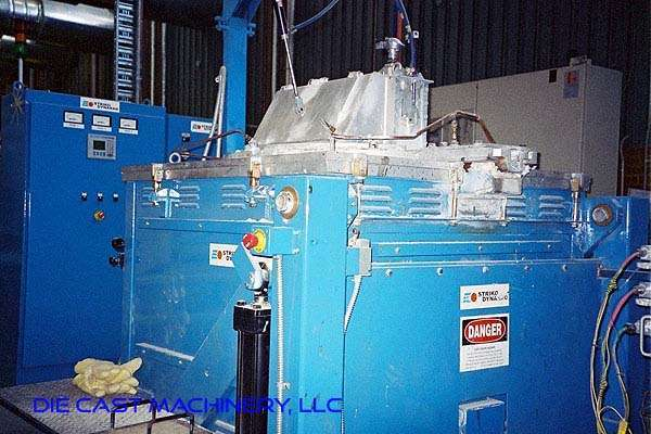 Electric Resistance Magnesium Melting and Holding Crucible Furnace