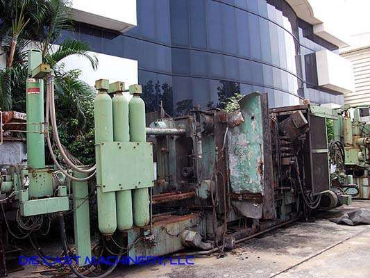 Picture of Buhler H-800-B Horizontal Cold Chamber Aluminum High Pressure Die Casting Machine For Sale DCMP-2930