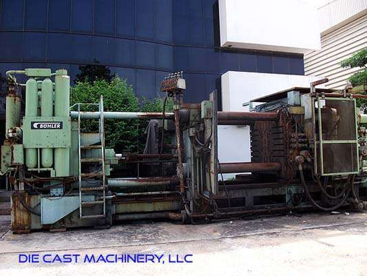 Picture of Buhler H 1100-B Horizontal Cold Chamber Aluminum High Pressure Die Casting Machine For Sale DCMP-2931