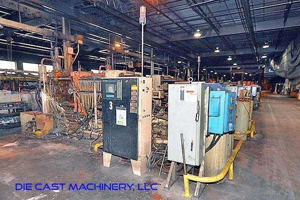 Picture of Kux-Wickes BH-600 Horizontal Hot Chamber Zinc (Zamak) High Pressure Die Casting Machine For Sale DCMP-2937
