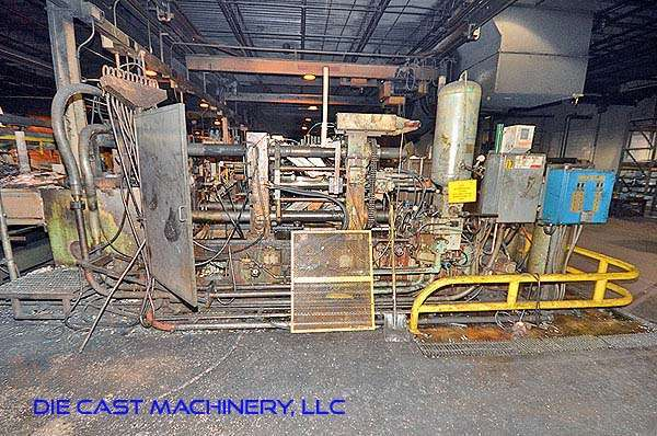 Picture of Kux-Wickes BH-400 Horizontal Hot Chamber Zinc (Zamak) High Pressure Die Casting Machine For Sale DCMP-2942
