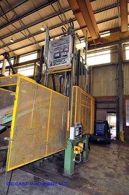 Used Esse 2 Oleodinamica SRL TB 60 13 10 60 ton Vertical Die