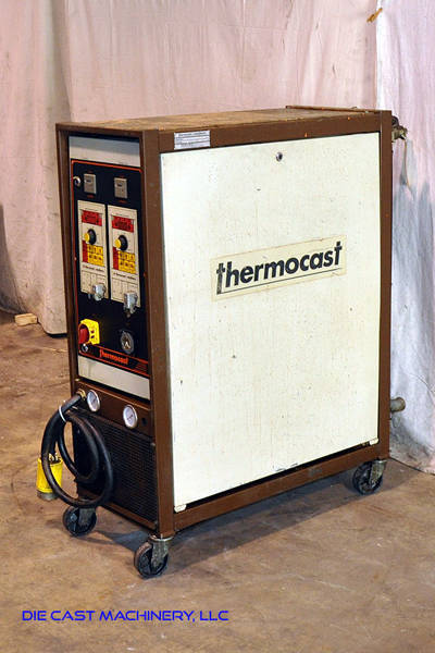 Used Thermocast Robatherm  Hot Oil Die Temperature Control Unit For Sale DCM 2959