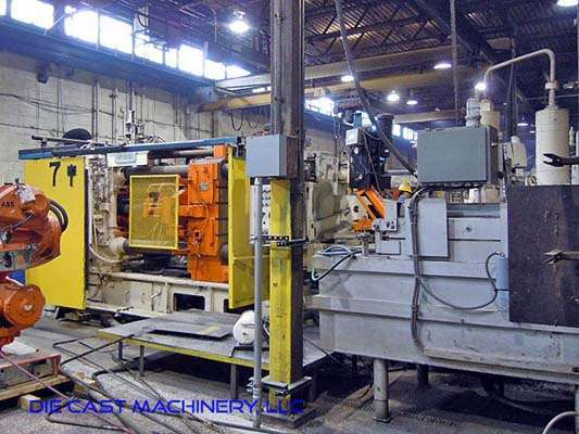 Picture of Ube UB800F Horizontal Cold Chamber Aluminum High Pressure Die Casting Machine For Sale DCMP-2963